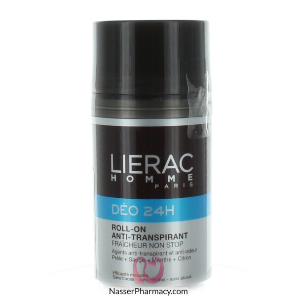 Lierac Men Deo 24h Roll-on - 50 Ml