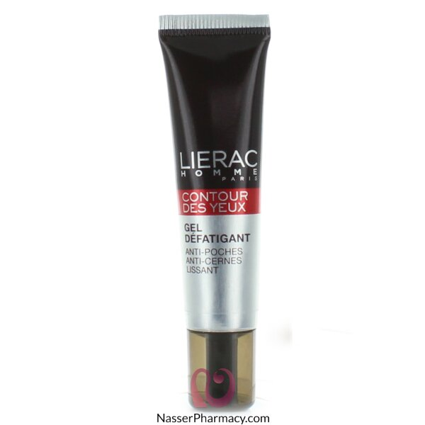 Lierac Men Eye Contour Fatigue Smoothing Gel -15ml