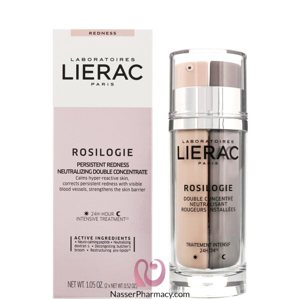 Lierac Rosilogie Day &night Anti Redness Double Concentrate 2x15ml