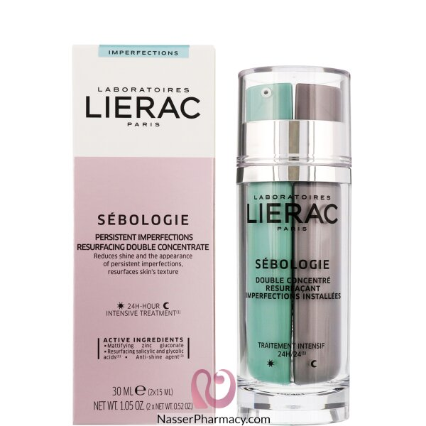 Lierac Sebologie Day & Night Double Concentrate 2x15ml