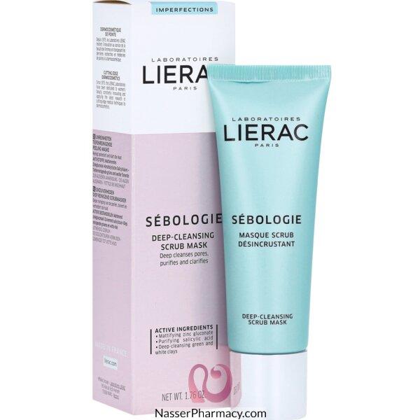 Lierac Sebologie Imperfection Correcting Scrub Mask 50ml