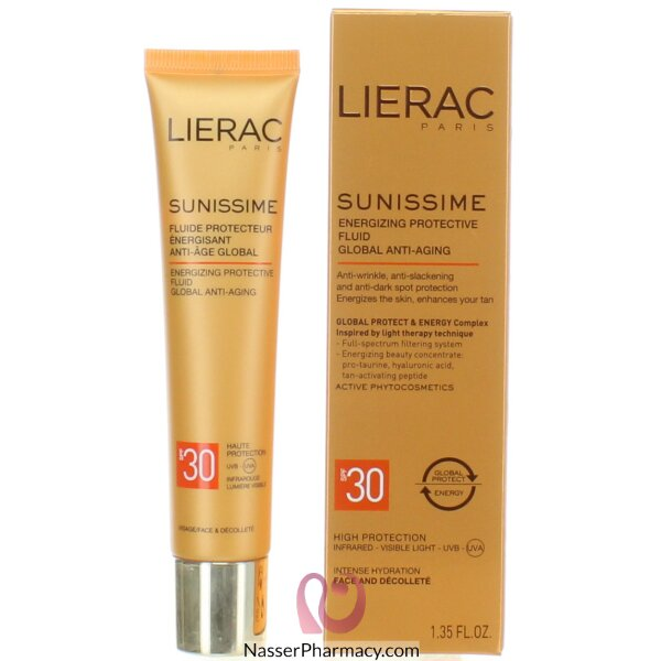 Lierac Sunissime Energizing Protective Fluid Spf 30 40ml