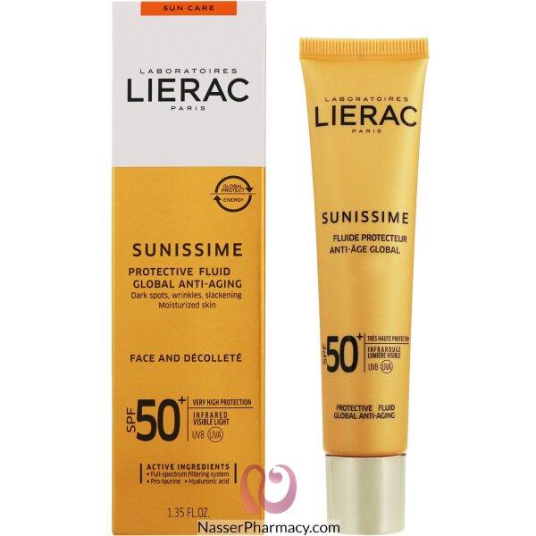 Lierac Sunissime Energizing Protective Fluid Spf 50 40ml