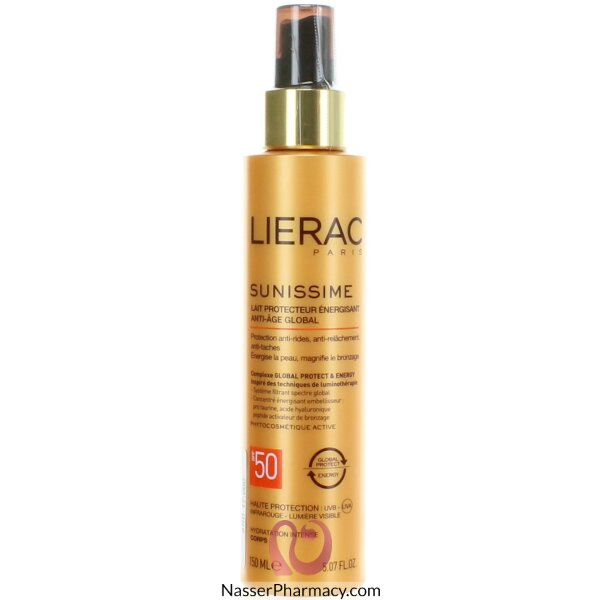 Lierac Sunissime Energizing Protective Milk Spf 50 150ml