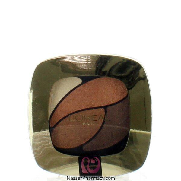 لوريال L'oreal ظلال العيون الرباعي Color Riche -  E3 Infiniment Bronze