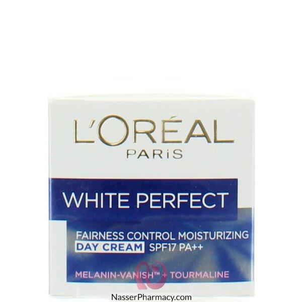 لوريال   L'oreal White Perfect كريم نهاري - 50 مل
