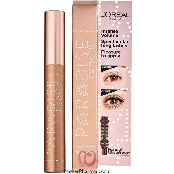 L'oréal Voluminous Paradise Waterproof Mascara Black 01