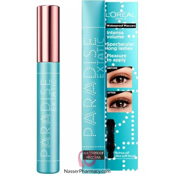 L'oréal Voluminous Paradise Waterproof Mascara Black 01