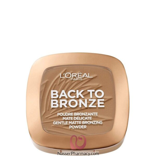 L'oreal Back To Bronze Matte Bronzing Powder 01