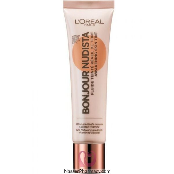 L'oreal  Bonjour Nudista  Bb Cream Medium Dark