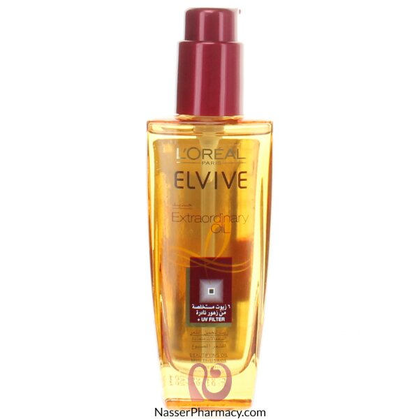 L&#39oreal Elvive Oil Extraordinary For Colored Hair- 100ml