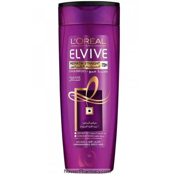 L'oreal Elvive Shampoo Keratin Sleek 400ml