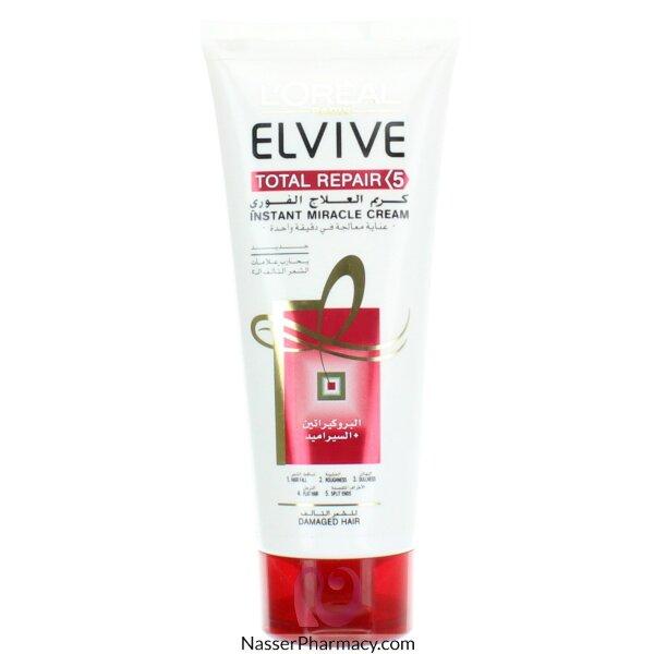 L&#39oreal Elvive  Total Repair 5 Instant Miracle Cream 200ml