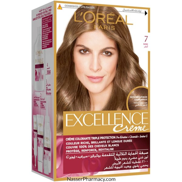 L'oreal Excellence Cream 7 Blond