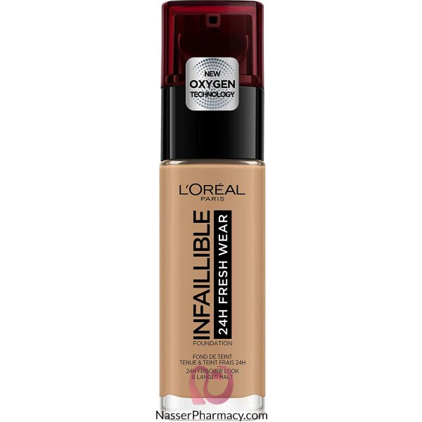 L'oreal Foundtion Infallible 24hr 290 Golden Ambr