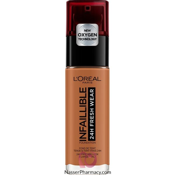 L'oreal Foundtion Infallible 24hr  340 Copper