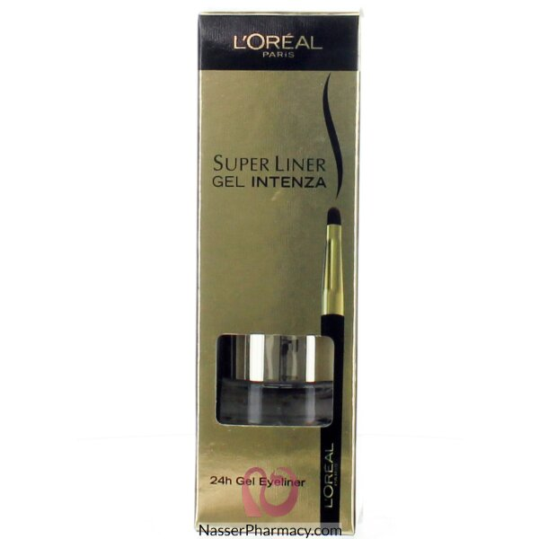 L'oreal Gel Liner Intenza Pure Black 01