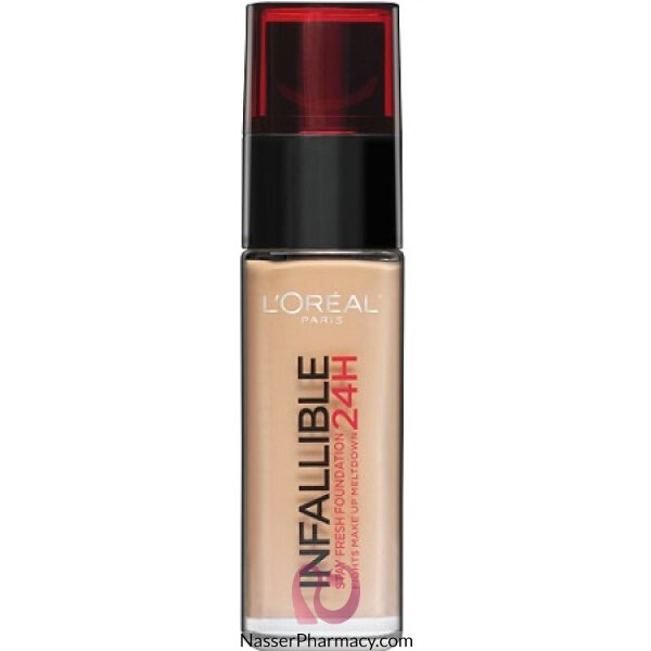 L'oreal Infallible Foundation 130 Beige Peau-30ml
