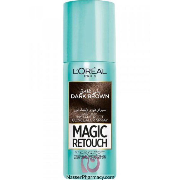 L'oreal Magic Retouch Instant Root Concealer Spray 75ml - 3 Dark Brown