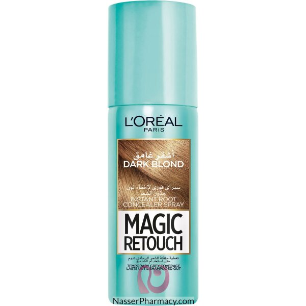 L'oreal Magic Retouch Instant Root Concealer Spray 75ml - 4 Dark Blonde