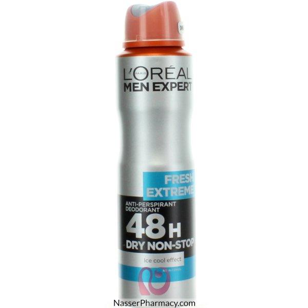 L'oreal Men Expert Fresh Extreme 48h Anti-perspirant Deodorant 150ml-39288
