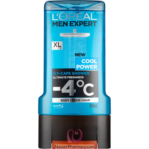 L'oreal Men Expert Shower Gel Cool Power 300ml