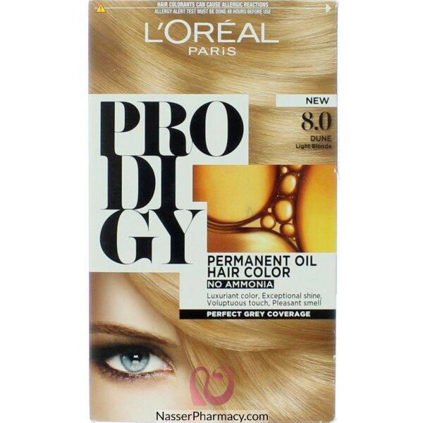 L'oreal ِparis Ammonia Free Prodigy Dye – Dune Blonde 8