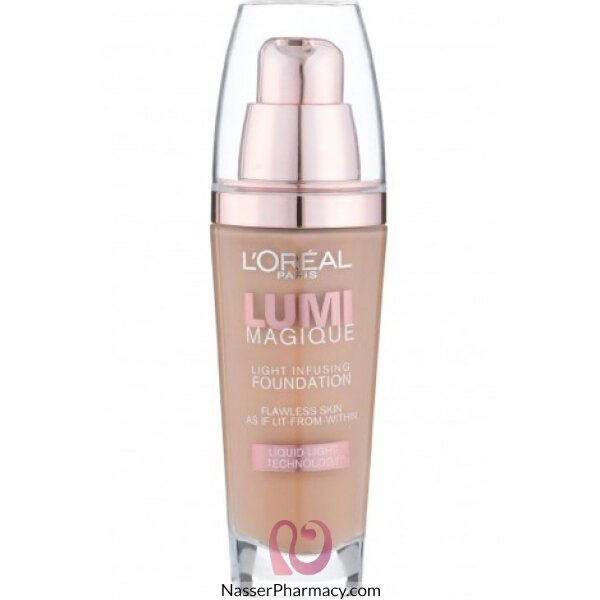 L'oreal Paris Lumi Magique Light Infusing Foundation N1 Pure Pearl, 30 Ml