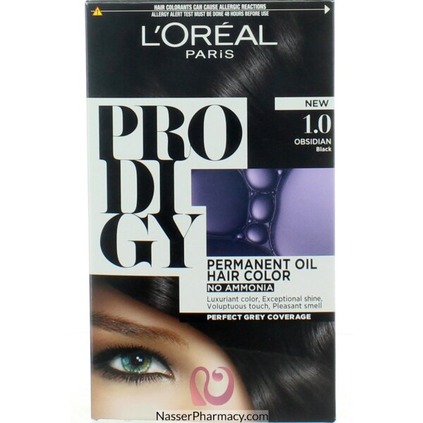 L'oreal Prodigy Hair Color  Deep Black-1.0