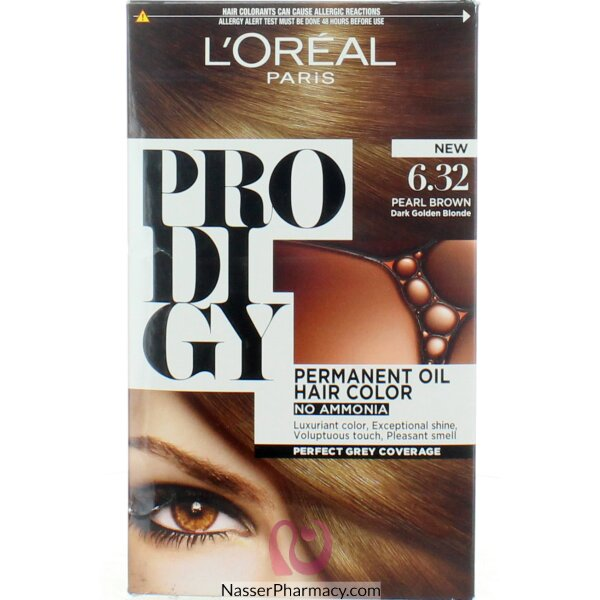 L'oreal Prodigy Pearl Brown 6.32