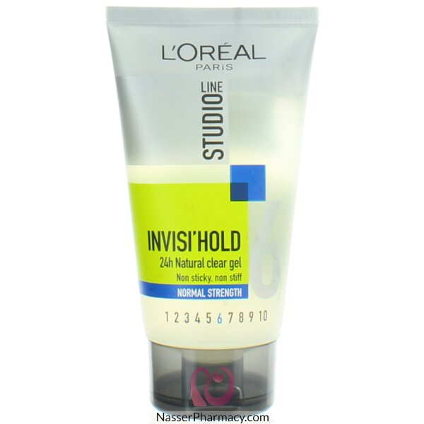 L'oreal Studio Line Normal Strength Invisible Holding Gel 150ml Tube