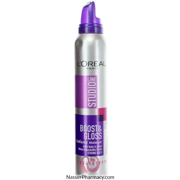 L'oreal Studio Line Volume  Mousse Boost & Gloss 200ml