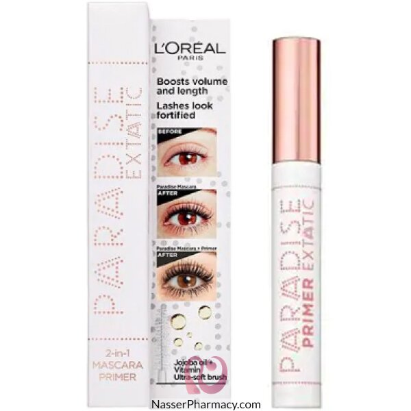 L'oreal Voluminous Paradise Primer White 01
