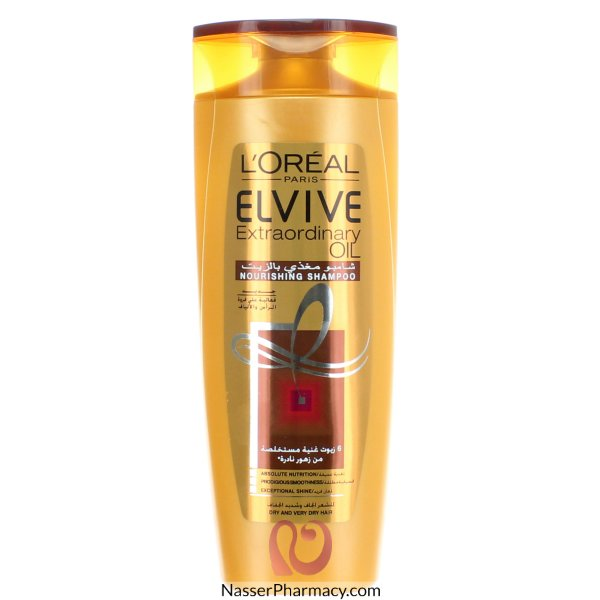 L'oreal  Elvive Extraordinary Oil Shampoo Dry Hair  400ml