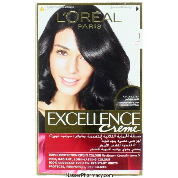 Loreal Excellence Crème 1 Black