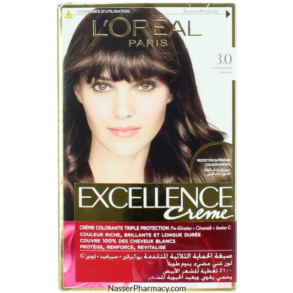 Loreal Excellence Crème 3.0 Dark Brown