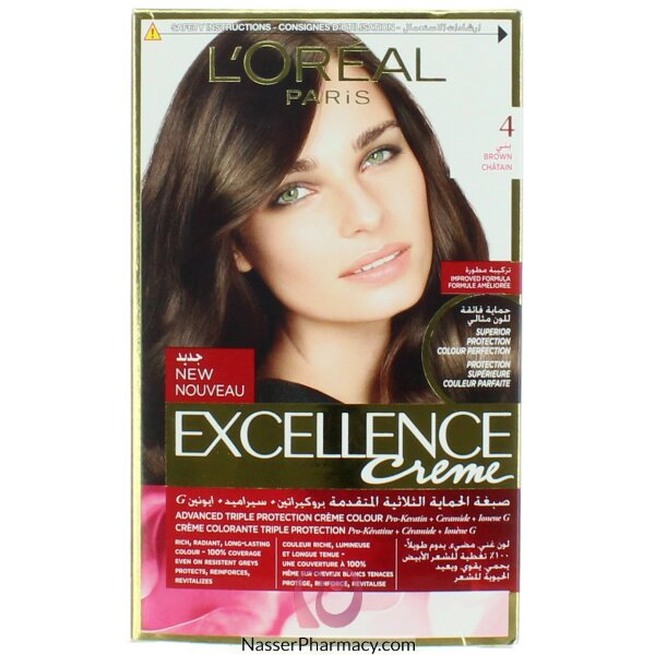 Loreal Excellence Crème  4 Brown