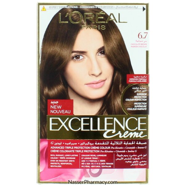 Loreal Excellence Crème  Chocolate Brown  6.7