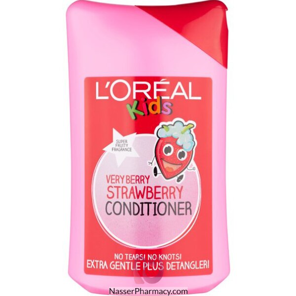 Loreal Kids Conditioner Strawberry 250ml-24965