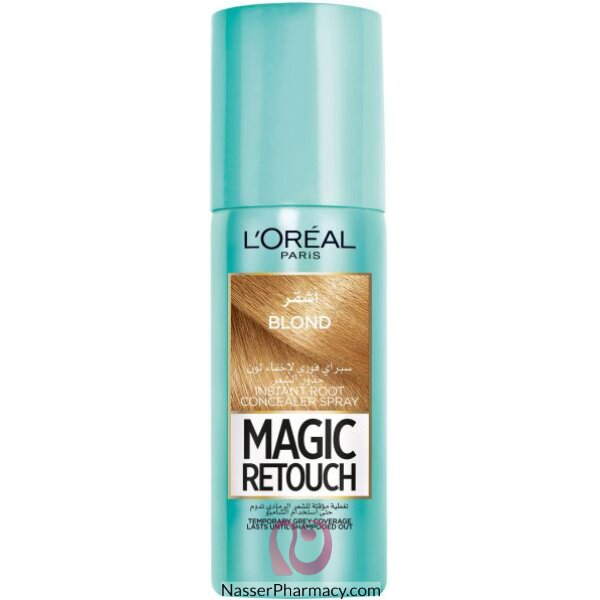 L'oreal Magic Retouch Instant Root Concealer Spray 75m - 5  Blonde