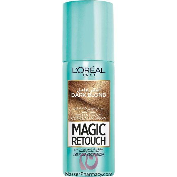 L'oreal Magic Retouch Instant Root Concealer Spray 75ml - 4 Dark Blonde