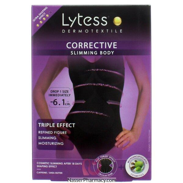 Lytess Corrective Slimming Body (s/m)-black