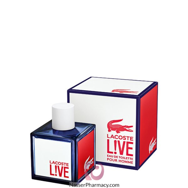 عطر لاكوست L!ve  Eau De Toilette  - 100 مل