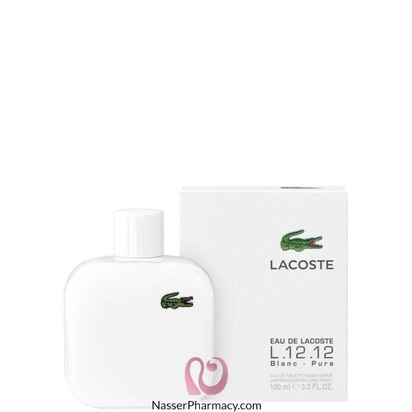 Lacoste Eau De Lacoste Blanc Eau De Toilette 100ml