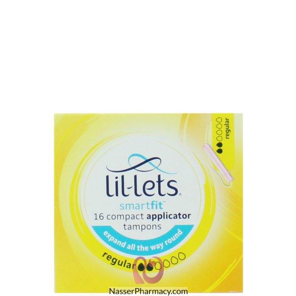 Lil-lets App Tampon Reg 16pk-8310943