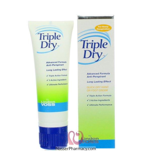 Triple Dry (e) Anti Perspirant Cream 75ml - 39863