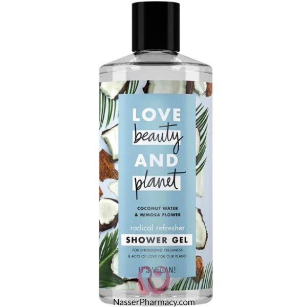 Love Beauty & Planet  Vegan Shower Gel Coconut/ Mimosa 400ml