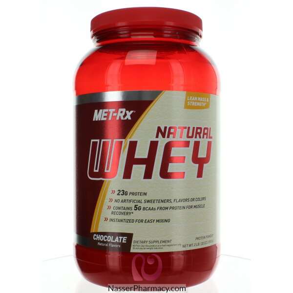 Met-rx Natural Whey Chocolate - 907 G,