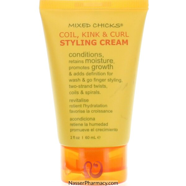 Mixed Chicks Coil Kink & Curl Styling Cream 60ml