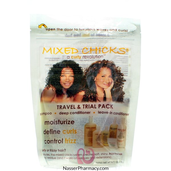 Mixed Chicks Travel Pack Resealable- 3 Pieces